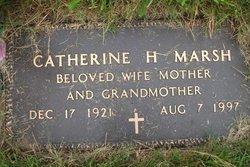 Catherine H Marsh