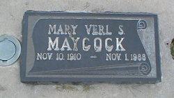 Mary Verl <I>Simmons</I> Maycock