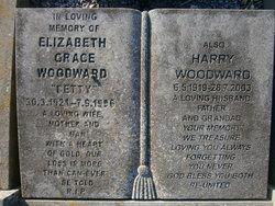 Elizabeth Grace <I>Dowsett</I> Woodward