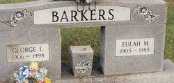 Eulah Madge <I>Garrett</I> Barker