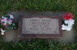 James Dixon Broderick