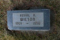 "Royal Alfred ""Roy"" Wilson"