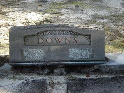 """William Carlton """"Billy"""" Downs"""