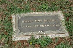 """Ernest """"Crip"""" Bagwell"""