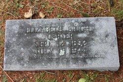 Elizabeth Williams <I>Bright</I> Carter