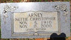 Nettie <I>Christopher</I> Arney