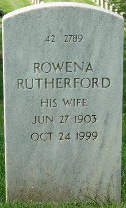 Rowena <I>Rutherford</I> Farrar