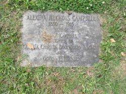 Alexina Bootwright <I>Nuckols</I> Campbell