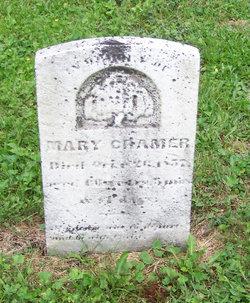 Mary E. <I>Pritts</I> Cramer
