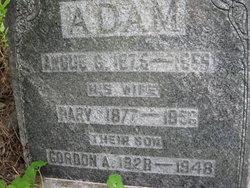 Mary <I>Clark</I> Adam