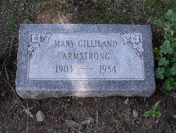 Mary Elizabeth <I>Gilliland</I> Armstrong