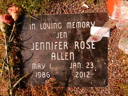 """Jennifer Rose """"Jen"""" Allen"""