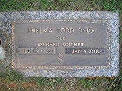 """Thelma """"Reb"""" <I>Todd</I> Dyda"""