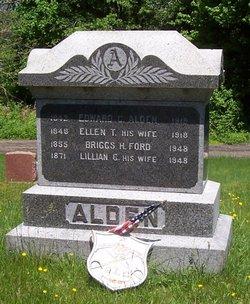 Ellen T <I>Rickards</I> Alden