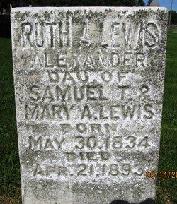 Ruth A. <I>Lewis</I> Alexander