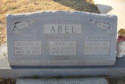 Jewel Mae <I>Marlar</I> Abel