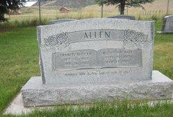 Iris Madeleine <I>Hall</I> Allen