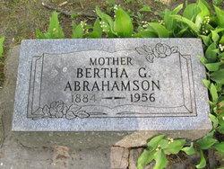 Bertha Grace <I>Brandenburg</I> Abrahamson