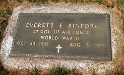 Everett E Binford