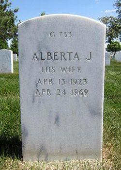 Alberta J Deidel
