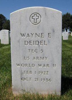 Wayne E Deidel