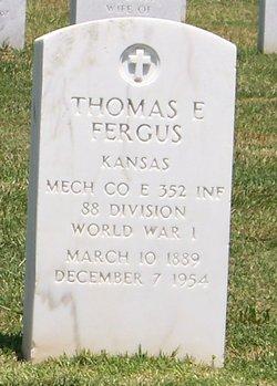Thomas E Fergus