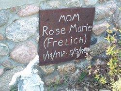 Rose Marie <I>Frelich</I> Leiphon