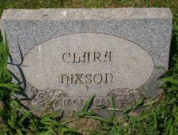 Clara <I>Suter</I> Hixson