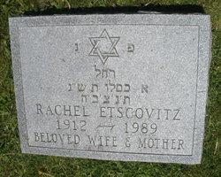 Rachel Etscovitz