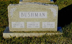 Grace K. <I>Klepper</I> Bushman