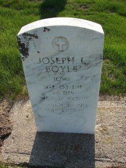 Sgt Joseph Leonard Boyle