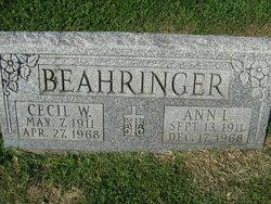 Ann L. Beahringer