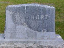 Mabel Gertrude <I>Focht</I> Hart
