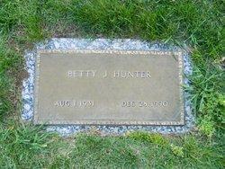 Betty June <I>Venyard</I> Hunter