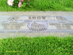 Lydia Ellen <I>Hopkins</I> Snow