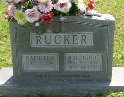 Raliegh Carman Rucker