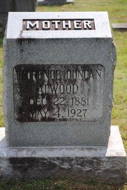 Florence <I>Duncan</I> Atwood