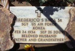 "Frederico S ""Freddie"" Baca, Sr"
