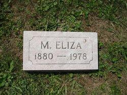 Maria Eliza <I>Hahn</I> Bosley