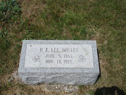 Robert Lee Bosley