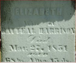 Elizabeth Thompson <I>Scott</I> Harrison