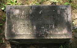 John F Pieh