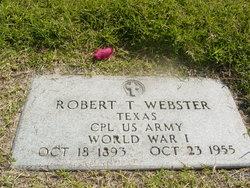 Robert Thomas Webster