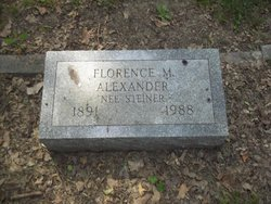 Florence M <I>Steiner</I> Alexander