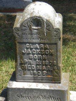 Clara <I>Thompson</I> Jackson
