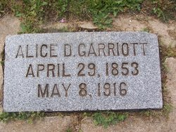 Alice <I>Donaldson</I> Garriott