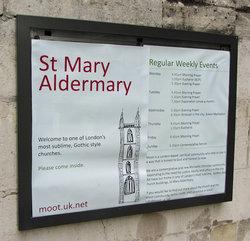 St Mary Aldermary