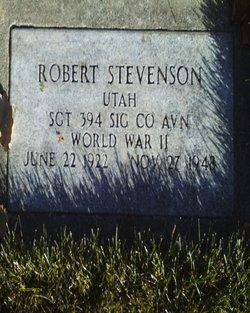 Robert Robinson Stevenson