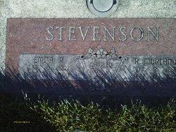Emma Alice <I>Robinson</I> Stevenson
