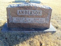Ola A <I>Gilman</I> Anderson